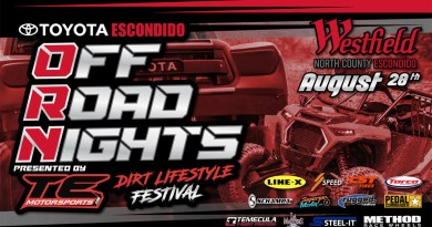 OFF-ROAD NIGHTS RETURNS – AUG 28TH 2021