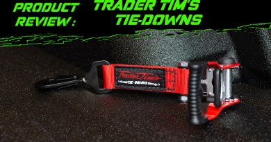 Dirt Chronicles Review: Trader Tim's Tie Downs