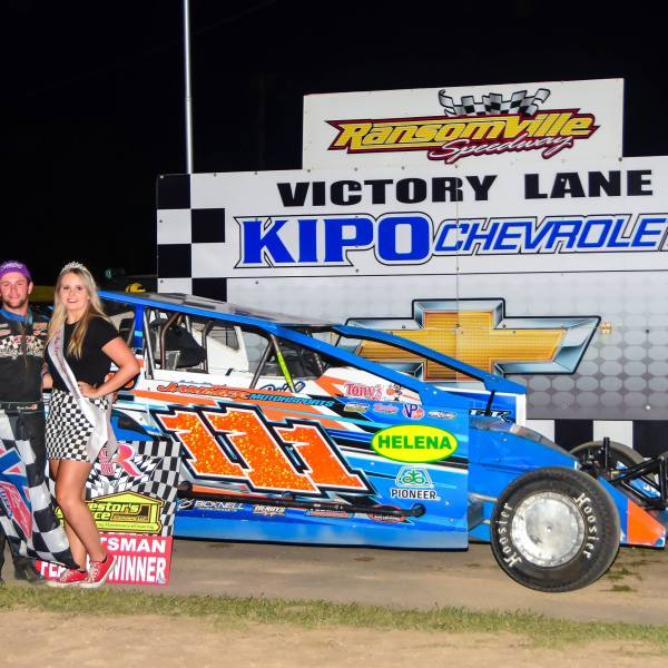 HOW THE WEST WAS WON: Senek Reins in First Career Series Win at Ransomville
