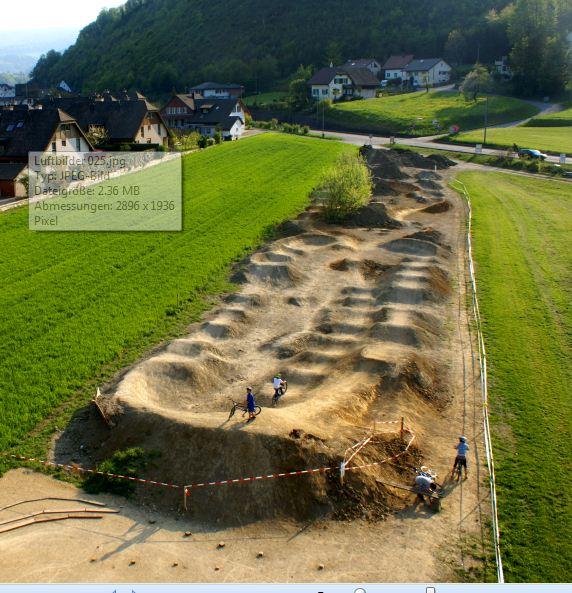 Bikepark Construction & Streckenbau (4/6)