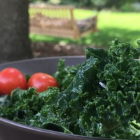 On Honoring and Liberation: Sweet, Tangy Kale Salad