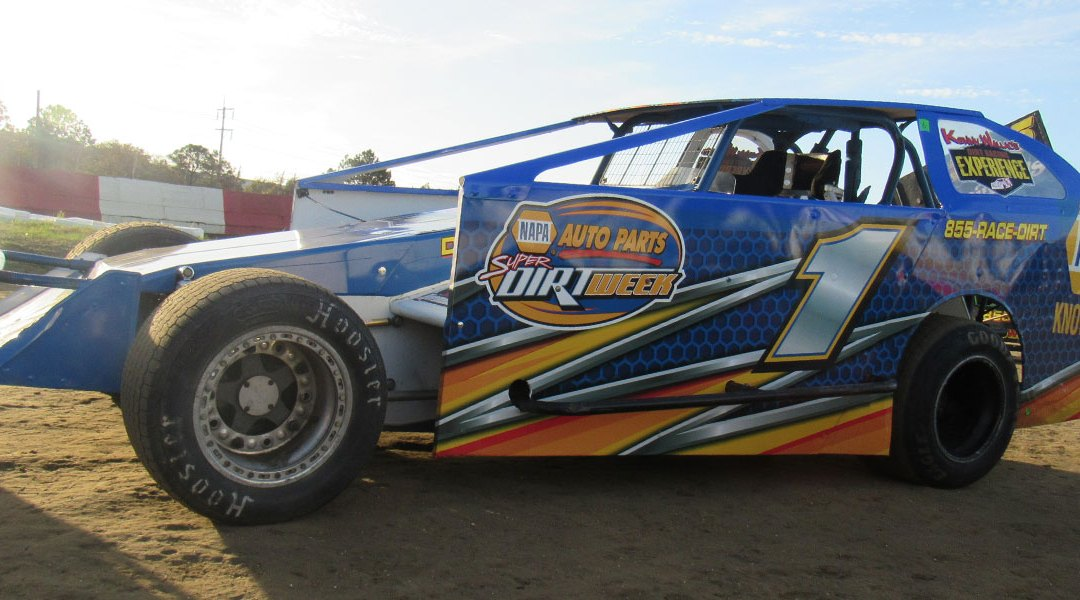 Stockton Dirt Track – Drive 5 Laps for only $89 on November 17th!
