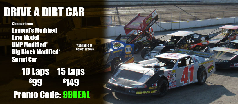 Drive 10 Laps for only $99