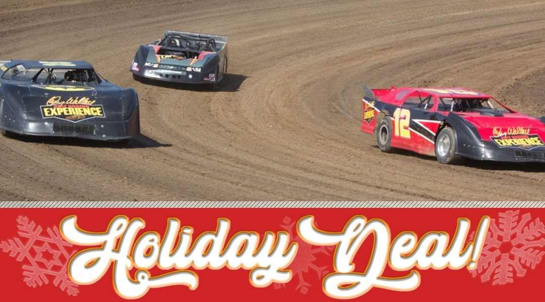 HOLIDAY DEAL 2018! Drive a Real Dirt Car for ONLY $89!