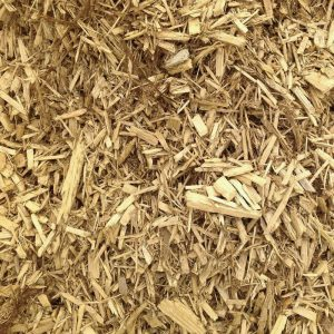 gold mulch - southern landscaping