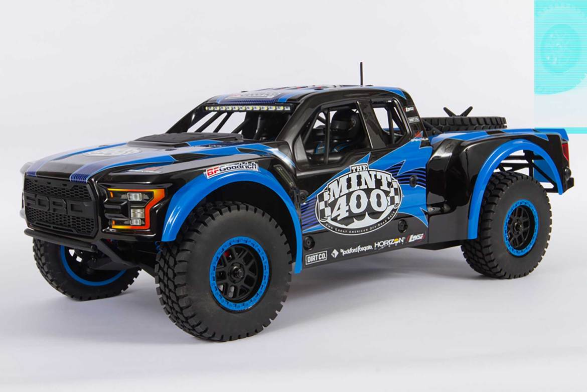 Losi Creates Limited Edition Mint 400 RC Truck