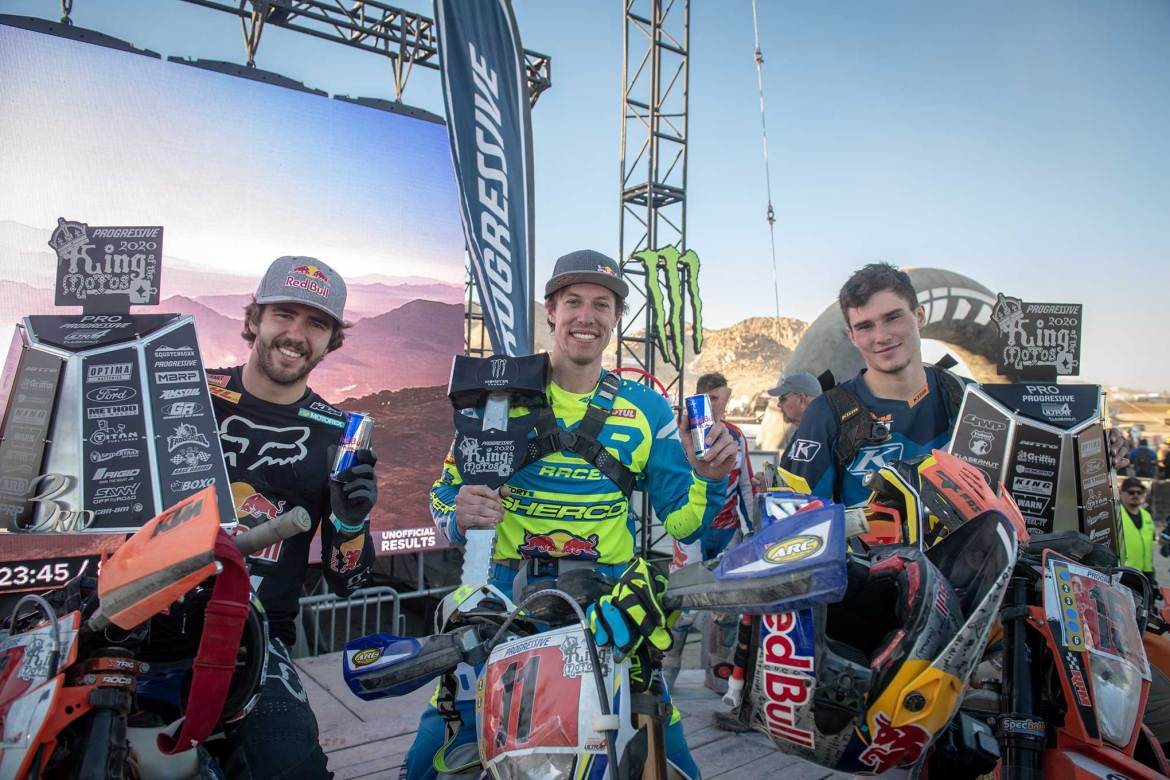 Cody Webb Returns to Racing with a King of the Motos Win