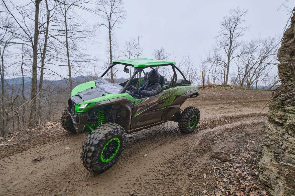 Exploring the Hatfield and McCoy Trail System with Kawasaki