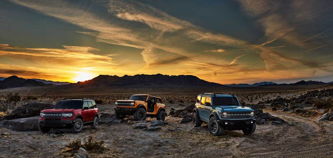 Ford Finally Unveils New 2021 Bronco