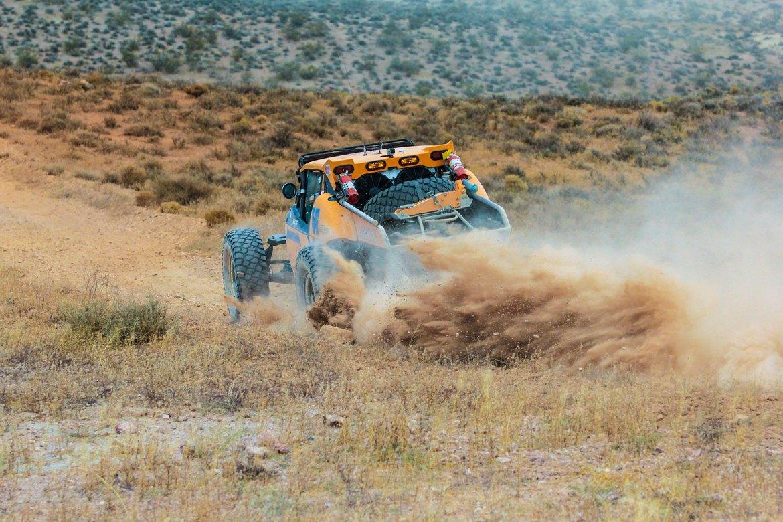 Best in the Desert Reversing Course on Vegas to Reno