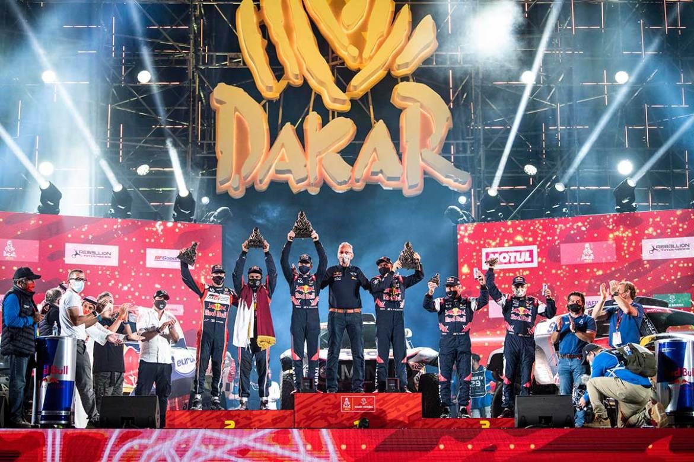 Stephane Peterhansel Wins Dakar Rally