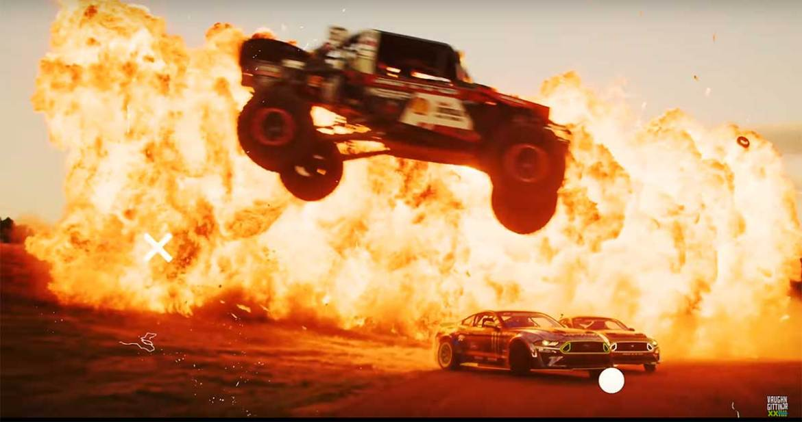 Explosions, Drifting, Off-Road Cars Flying