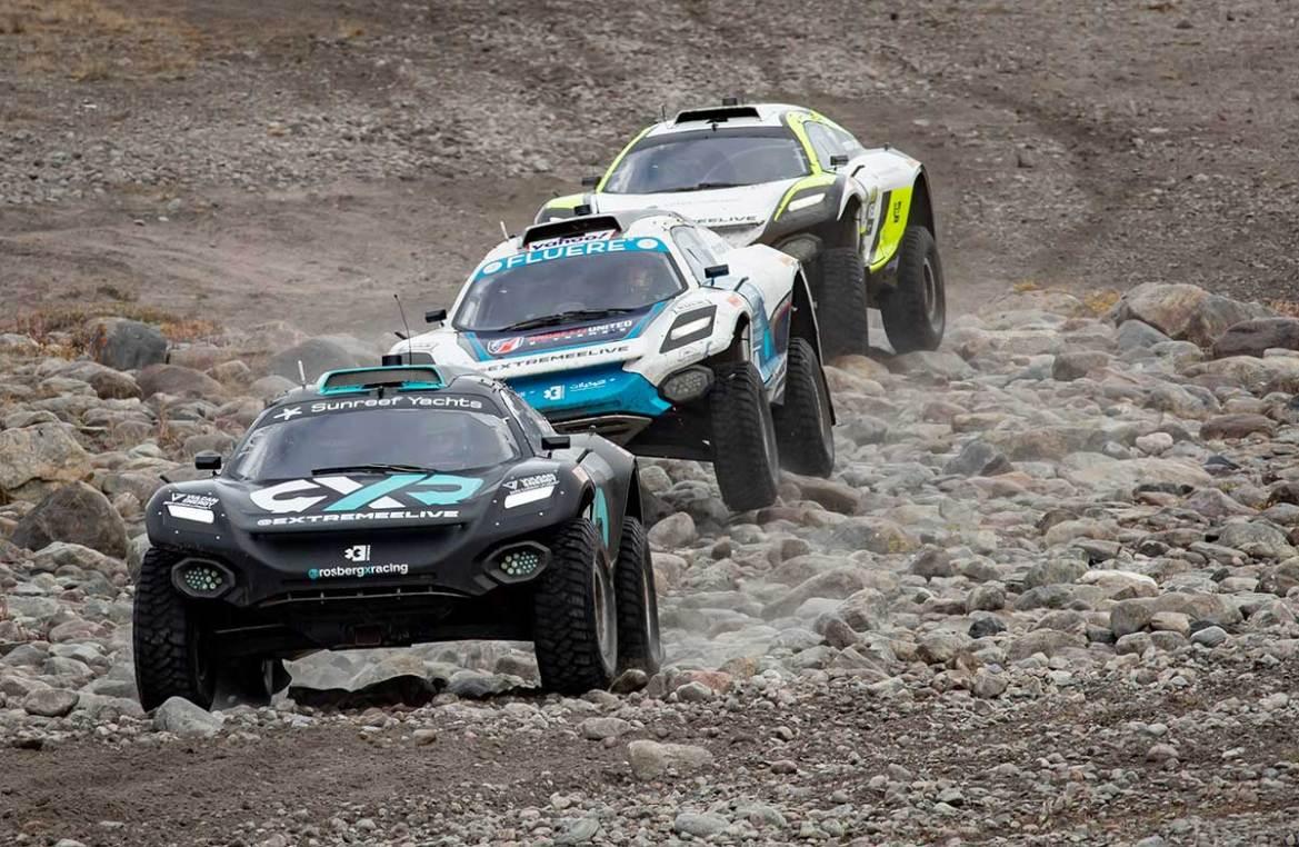 Andretti United Conquers Artic X Prix