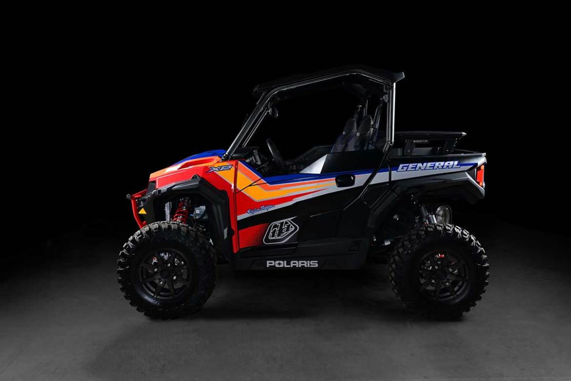 Polaris Unveils Special Edition Troy Lee Limited-Edition General
