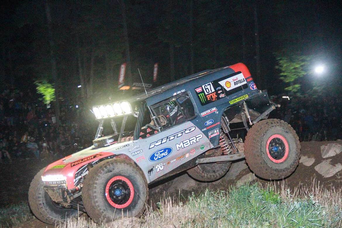 Loren Healy Wins Under the Lights at the Ultra4 Crandon Classic