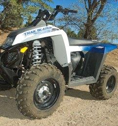 2012 polaris trail blazer 330 dirt wheels magazine [ 1200 x 798 Pixel ]