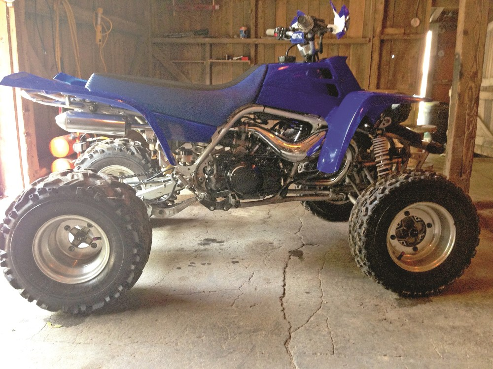 medium resolution of ryan hale s 2001 banshee has fmf pipes pro design cool heads with 22cc domes and