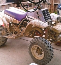 eric reno s 1993 banshee is not afraid of the mud at michigan s bundy hill riding park [ 2113 x 1436 Pixel ]