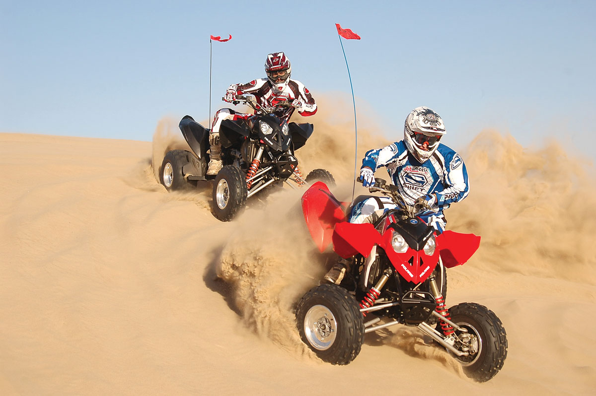 hight resolution of atv test polaris outlaw 525irs vs 525s blast from the past dirt wheels magazine