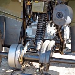 Front Wheel Drive Suspension Diagram Heart Atv Test: Polaris Outlaw And Sportsman 110s | Dirt Wheels Magazine