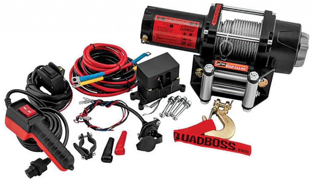 atv utv winch buyer\u0027s guide! dirt wheels magazine - quadboss atv winch  wiring