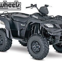suzuki released a few of their utility quads in a special edition model that comes in [ 1200 x 857 Pixel ]