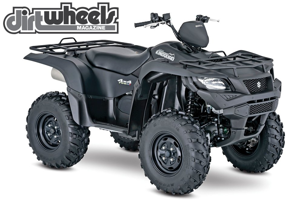 medium resolution of suzuki released a few of their utility quads in a special edition model that comes in