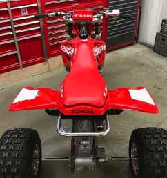 the 2003 version of honda s cr250r made quite a bit more power than the 1986 cr250r in fact the last year of honda s cr250 two stroke engine didn t really  [ 1200 x 987 Pixel ]