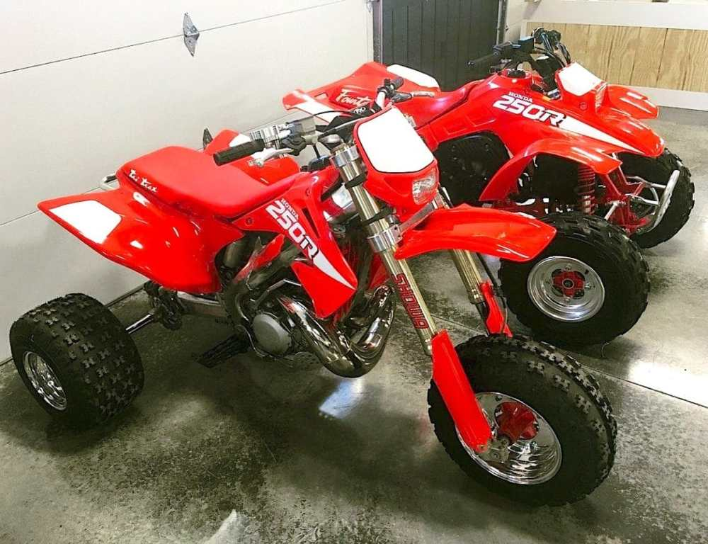 medium resolution of so how did this modern atc250r come to be well it s another project build by michael noska of 220 trikes llc he began with a 2003 honda cr250r dirt bike