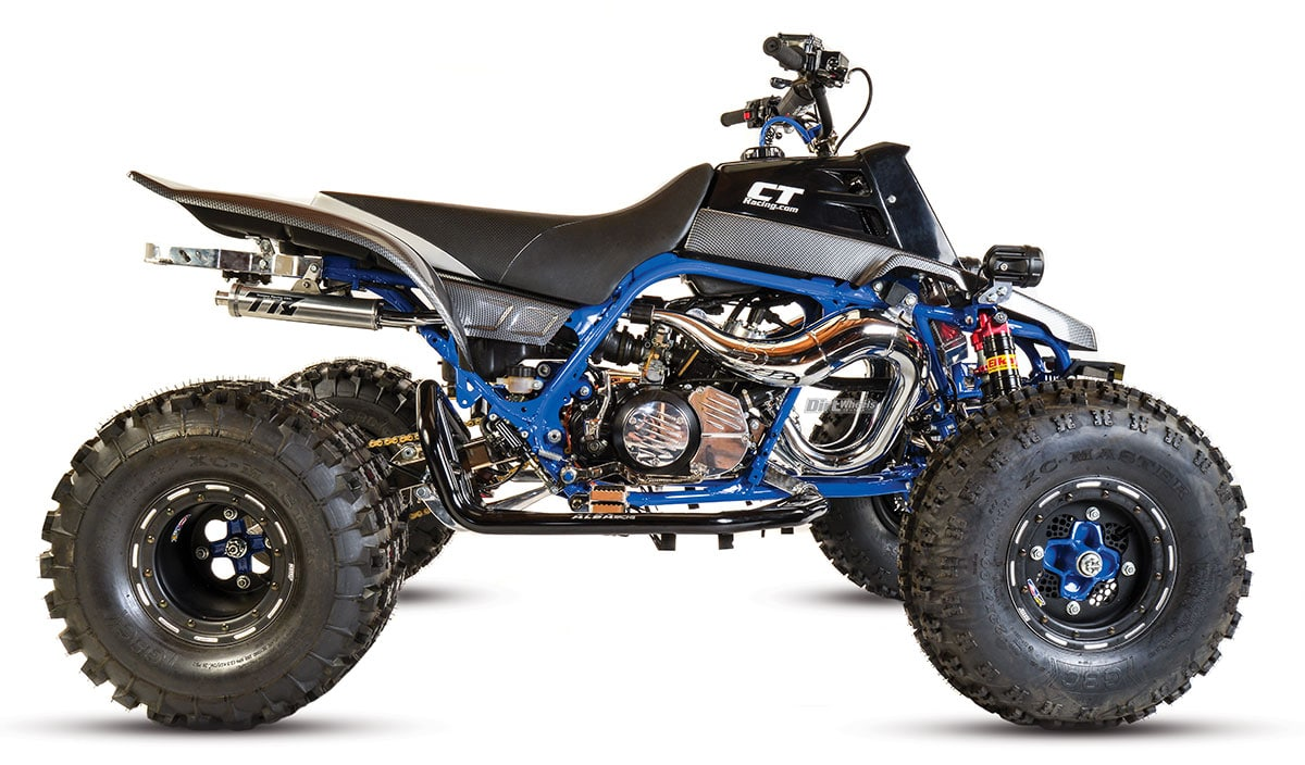 hight resolution of for a machine not born in this century the ct racing banshee is a great looking machine the hot rodded oversized two stroke tin is potent