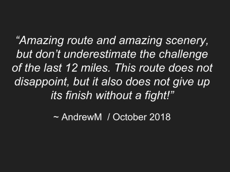 Quote by AndrewM on ride