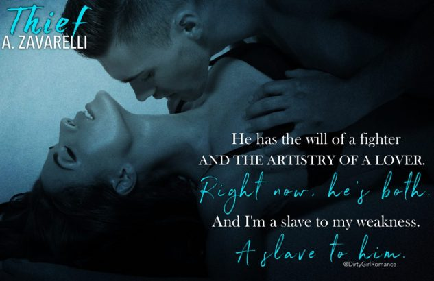 New Release Review Giveaway Thief By A Zavarelli