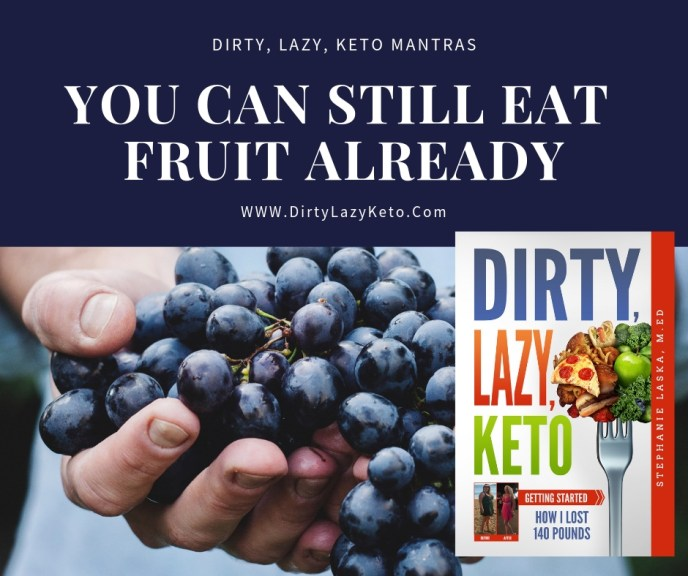 DIRTY, LAZY, KETO Getting Started: How I Lost 140 Pounds