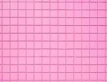 a pink tiled wall on melrose ave in los angeles