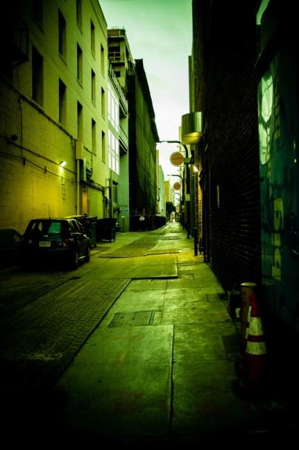 alley of santa monica