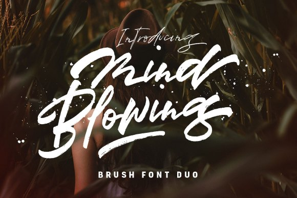 Mindblowing – Brush Font
