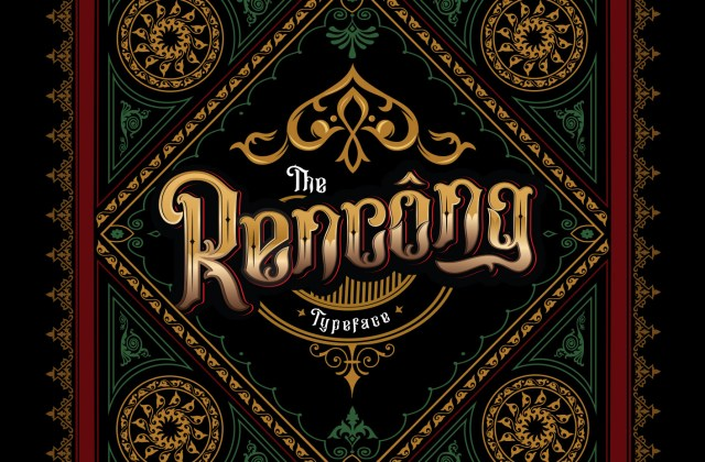 Rencong Typeface – The Cultural Decorative Font