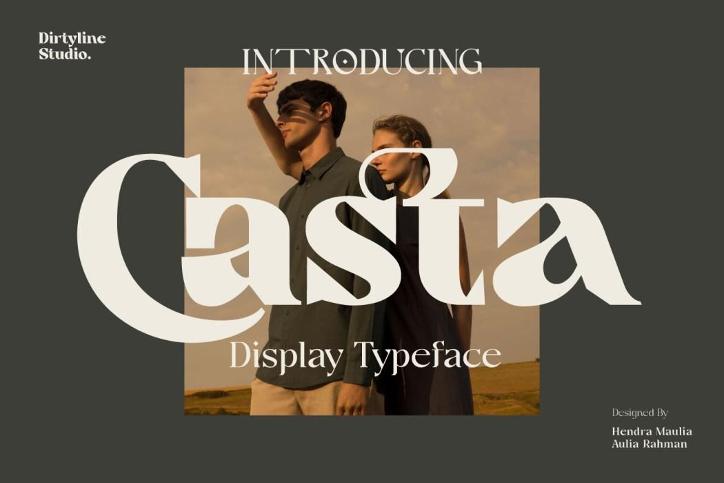 Casta Free Font