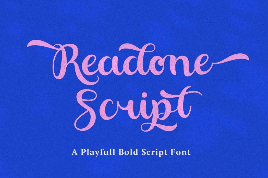 Readone Playfull – Free Font