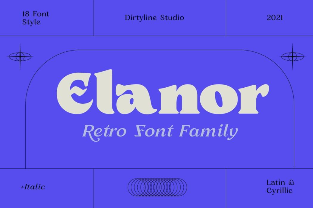 Elanor Free Font