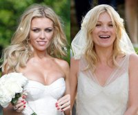 Celebrity Wedding Hair - Kate Moss and Abbey Clancy | Hair ...