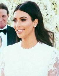 How to Get Kim Kardashian's Wedding Hair / Hair Extensions