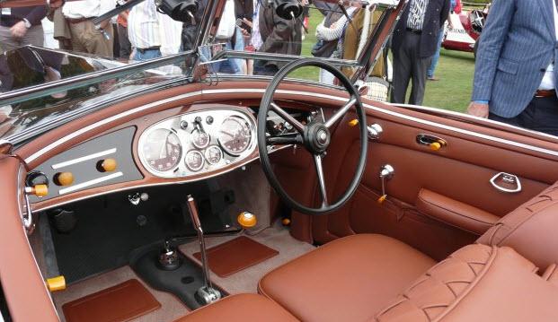 Concours D'Elegance winner 1936 Lancia Astura Cabriolet 2