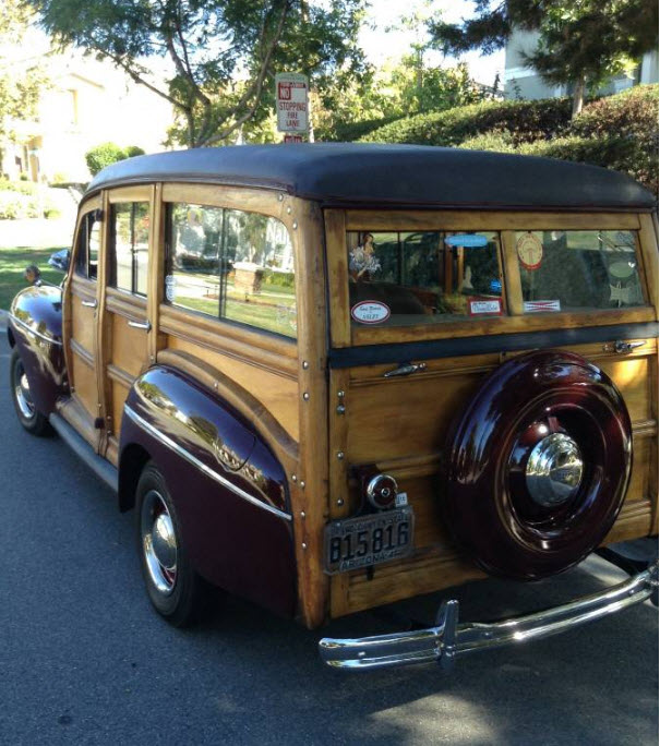 Ford Woody Wagon 1941 1