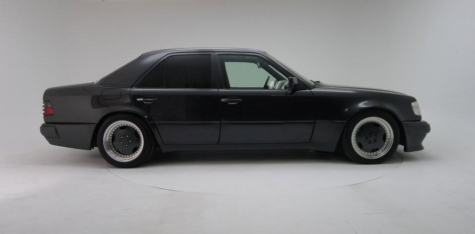 dirtyoldcars.com 1991 Mercedes Benz AMG Hammer E60 W124 body 10