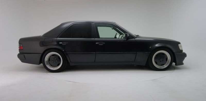 dirtyoldcars.com 1991 Mercedes Benz AMG Hammer E60 W124 body 2
