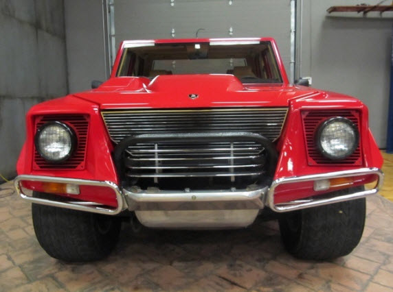1990 Lamborghini Lm002 American Model For Sale In New Jersey Dirty