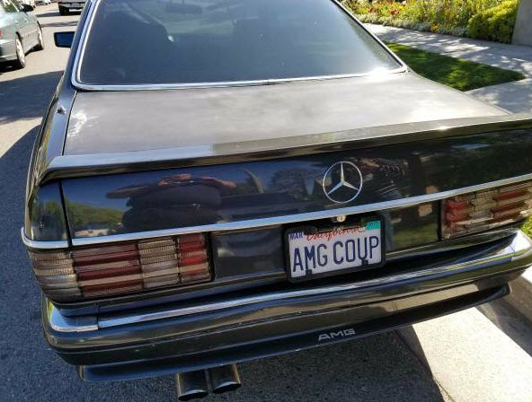 1991 Mercedes 560 SEC AMG Mods and large cache of rare parts
