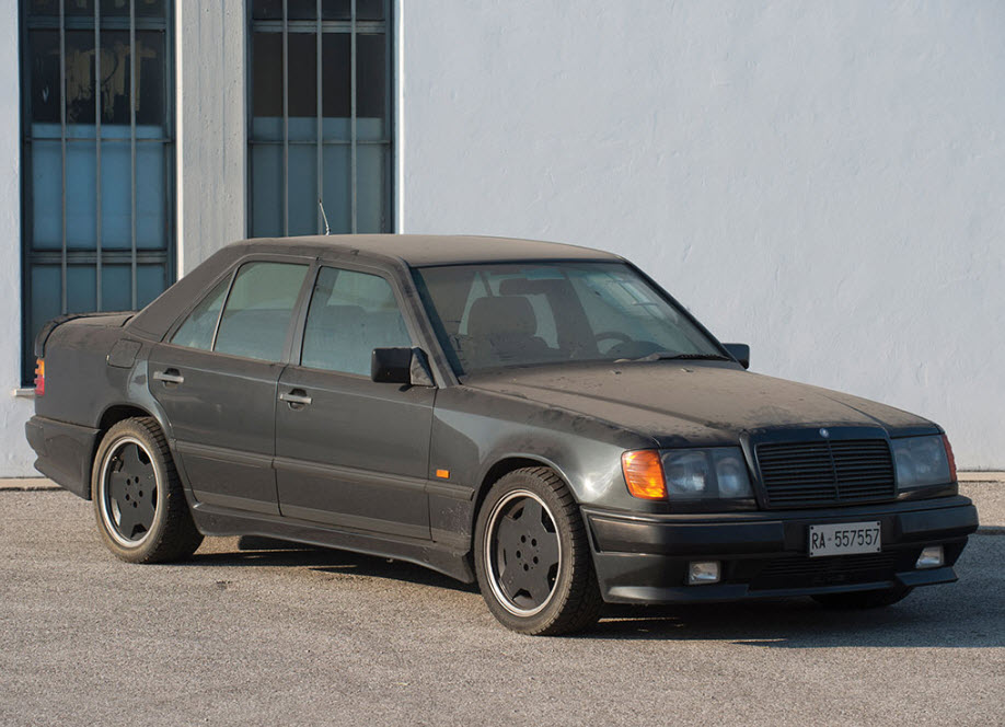1988 Mercedes-Benz 300 E Sedan AMG: 6 0 Hammer | Dirty Old Cars