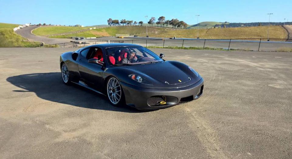 2008 Ferrari F430 Challenge Car For Sale in San Francisco  Dirty